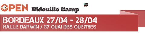 Open Bidouille Camp Bordeaux