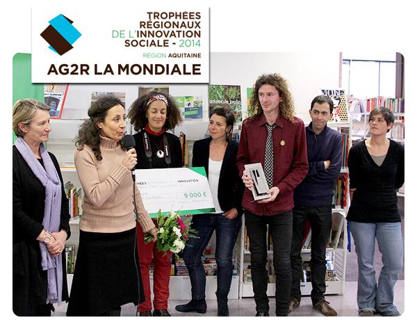 tooBordo - Lauréat des Trophées de l'Innovation Sociale AG2R La Mondiale 2014 !
