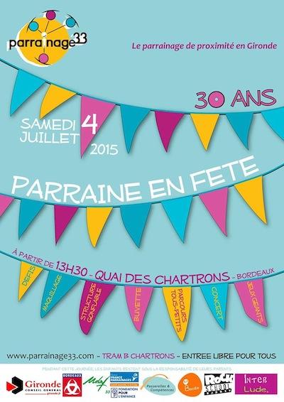 L'association Parrainage 33 fête ses 30 ans !