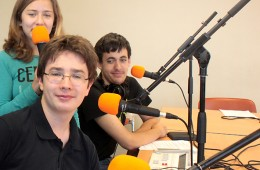 Nos jeunes journalistes du Club Radio USB Bordeaux – 2015
