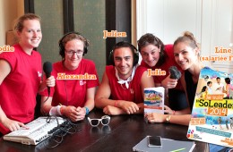 Stage radio 'Je suis Soleader 2014′