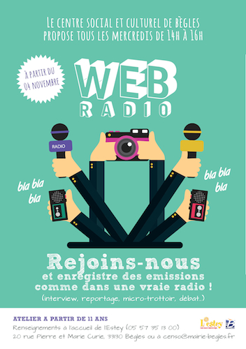 Atelier webradio Bordeaux