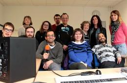Atelier radio avec des résidents de l'ADAPEI Gironde (Association départementale de parents et amis de personnes handicapées mentales), avril-novembre 2016