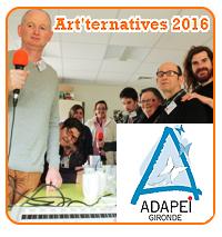 Art'ternatives 2016 avec l'ADAPEI 33 : Les arts médiatiques !