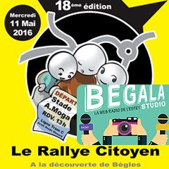 Le Rallye citoyen de Bègles !
