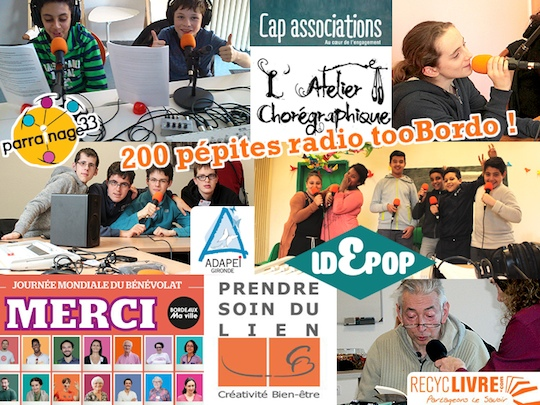 tooBordo, webradio associative à Bordeaux