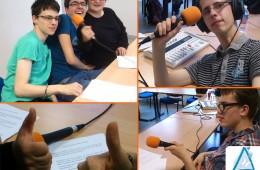 Ateliers radio ADAPEI Gironde (Association départementale de parents et amis de personnes handicapées mentales), avril-décembre 2016