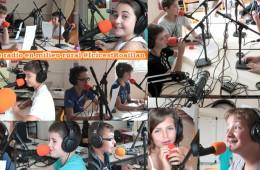 Stage radio avec les jeunes de l'ALSH de Roaillan (Gironde), juillet 2016