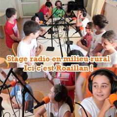 Stage radio jeunesse à l'ALSH de Roaillan, Sud Gironde !