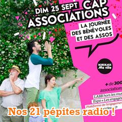 21 pépites radio pour fêter Cap Associations Bordeaux 2016 !