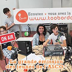 Notre stage radio d'été avec les jeunes du centre social et culturel de Saint-Médard-en-Jalles !