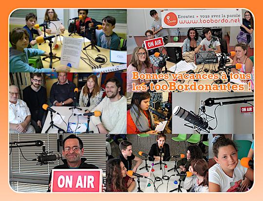 tooBordo, des projets radio ludiques et solidaires à Bordeaux et en Gironde !