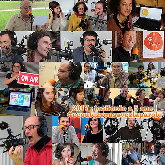Webradio tooBordo - Des ateliers et stages radio à Bordeaux et en Gironde