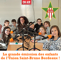 Nos ateliers radio avec les enfants (7/10 ans) de l'Union Saint-Bruno Bordeaux !