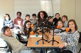 Ateliers radio avec un groupe d'enfants (7/10 ans) de l'Union Saint-Bruno Bordeaux – 2018