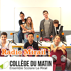 Radio Mirail, le rendez-vous des jeunes du Collège du Matin !