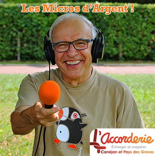 Les Micros d'Argent : des ateliers radio avec l'Accorderie Canéjan et Pays des Graves