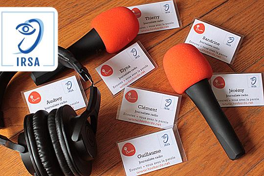 Ateliers radio et handicap sensoriel - Résidence Luis Daney, IRSA Mérignac -