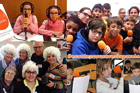 Webradio tooBordo : des ateliers radio jeunesse, pour les seniors et les personnes handicapées à Bordeaux et en Gironde > Ecoutez, vous avez la parole !
