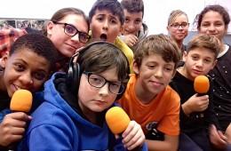 2ème saison de Radio Mirail, les ateliers radio avec les jeunes du Collège du Matin de l'Ensemble Scolaire Le Mirail Bordeaux – 2019