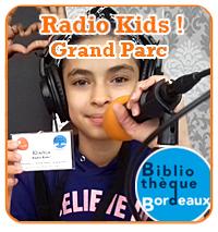 Webradio tooBordo > Radio Kids : Des atelier radio pour les jeunes, à la bibliothèque Grand Parc Bordeaux