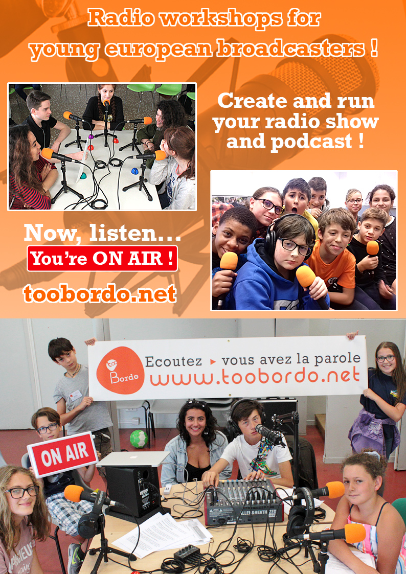 Atelier radio pour les jeunes européens - Radio workshops for young european people -